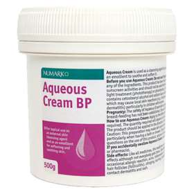 Numark Aqueous Cream BP (500g)