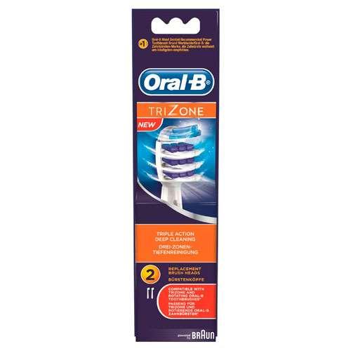 Image of Braun Oral-B Trizone Replacement Toothbrush Heads (2)