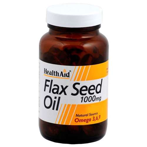 Image of Health Aid Flax Seed Oil 1000mg 60 capsules