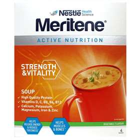Meritene Strength & Vitality Vegetable Soup 4 sachet