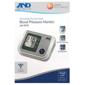 A&D Blood Pressure Monitor UA-767S