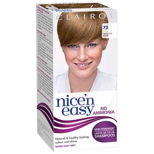 Image of Clairol Nice 'n Easy Medium Ash Blonde 73