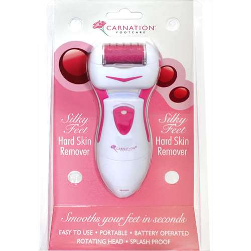 Image of Carntion Silky Feet Hard Skin Remover