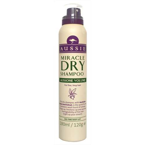 Image of Aussie Miracle Dry Shampoo Aussome Volume 180ml