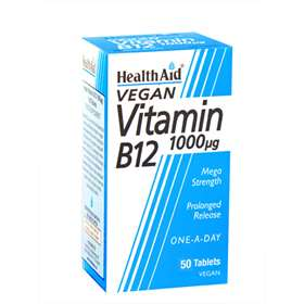 Health Aid Vitamin B12 1000µg 50 Tablets