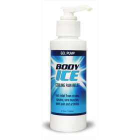 Body Ice Cooling Pain Relief Gel 120ml