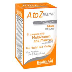 HealthAid A to Z Multivit Tablets 90
