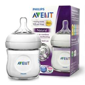 Philips Avent 0+ Natural Baby 125ml Bottle