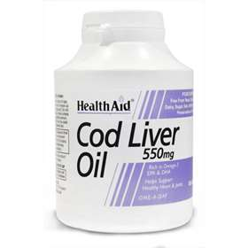 HealthAid Cod Liver Oil 550mg 180 Capsules