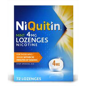 NiQuitin Mint Nicotine Lozenges 4mg 72