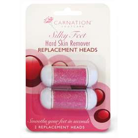 Carnation Silky Feet Hard Skin Remover Replacement Heads