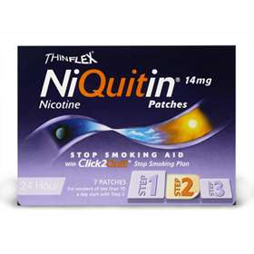 NiQuitin 14mg Nicotine Patches (7) Step 2