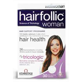 Wellwoman Hairfollic Woman 30 Tablets