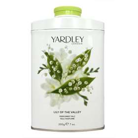 Yardley Lily of the Valley 200g Tinned Talc