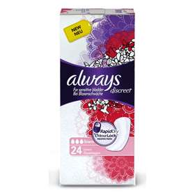Always Discreet Incontinence Liners 24