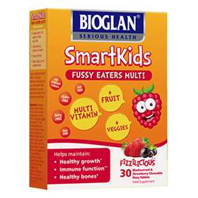 Smartkids Chewable Fizzy Strawberry & Blackcurrant  Tablets  30