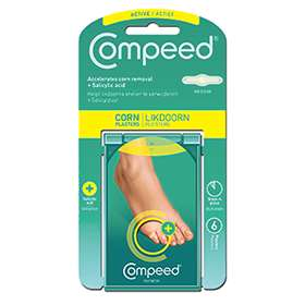 Compeed Corn Plasters with Salicylic Acid Medium 6