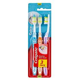 Colgate Extra Clean Medium  toothbrushes 3 Pack
