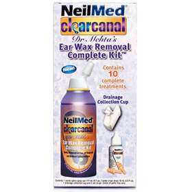 Neilmed Clearcanal Ear Wax Removal Complete Kit