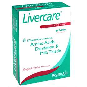 Livercare Two-A-Day Tablets 60