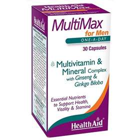 Health Aid MultiMax for Men One-a-Day 30 Capsules
