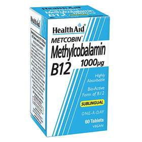 Metcobin Methylocabalamin B12 1000ug Tablets 60