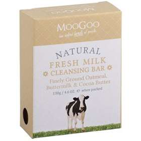 MooGoo Fresh Ground Oatmeal Cleansing Bar 130g