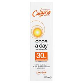 Calypso Once A Day Sun Protection Lotion SPF 30 200ml