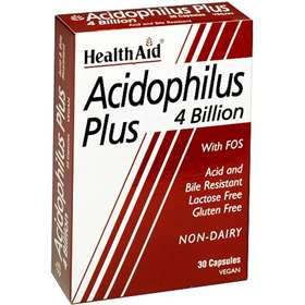 HealthAid Acidophilus Plus 4 Billion 30 Capsules