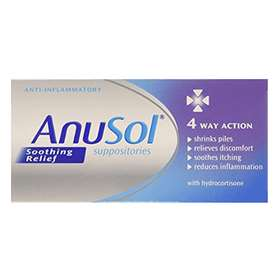 Anusol Soothing Relief Suppositories 12