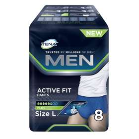Tena Men Active Fit Pants Plus Large 8