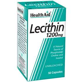 Health Aid Lecithin 1200mg 50 Capsules