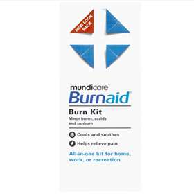 Mundicare Burnaid Burn Kit All-in-One