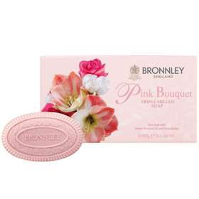 Bronnley Pink Bouquet Triple Milled Soap 3x100g
