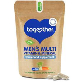 Together Men's Multi Vitamin & Mineral Supplement 30 Vegecaps