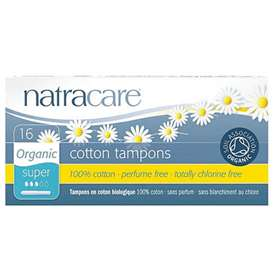 Natracare Organic Cotton Tampons Super 16