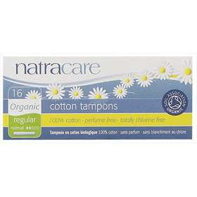 Natracare Organic Cotton Tampons Regular 16