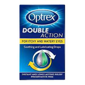 Optrex Double Action For Itchy & Watery Eyes 10ml