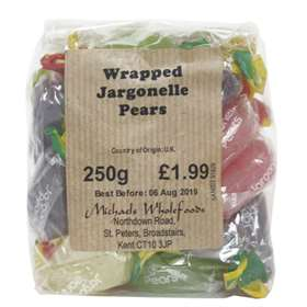 Wrapped Jargonelle Pears 250mg
