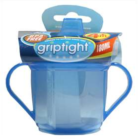 Griptight Trainer Cup 4months+ - 180ml - Blue