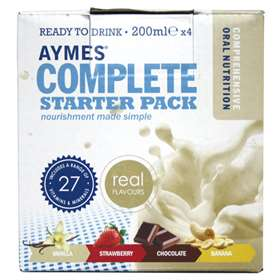 Aymes Complete Starter Pack Nutrition Drink 4x 200ml