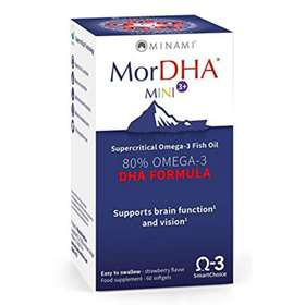 Minami MorDHA Mini 3+ Omega-3 Fish Oil 60 Softgels