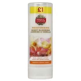 Cussons Imperial Leather Moisturising Night Blooming Jasmine and Vanilla Shower Cream 250ml