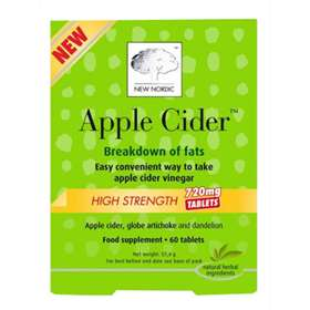 New Nordic Apple Cider High Strength Tablets 60