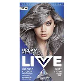 Schwarzkopf Live Urban Metallics Dusty Silver Hair Dye Kit