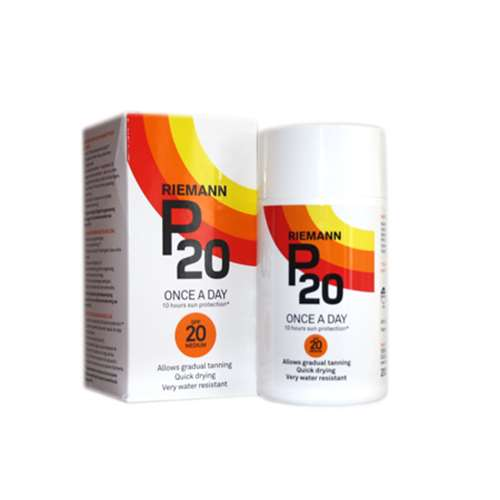 Riemann P20 Sun Filter Lotion SPF20 (200ml)