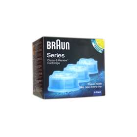 Braun Cleaning Cartridge for Activator, Synchro & Flex models (3) - Click to enlarge picture
