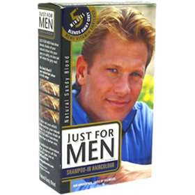 6269ca906 Just For Men - Shampoo in Hair Colour - Natural Sandy Blonde ...