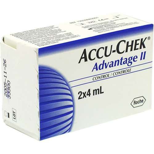 Image of Accu-Chek Advantage II control 2x4mL