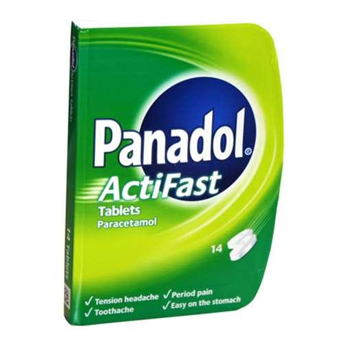 Image of Panadol Actifast New Compack (14)